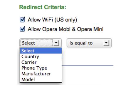Blocking Opera Mini Traffic - iMobiTrax