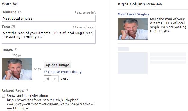 Facebook Single Ad